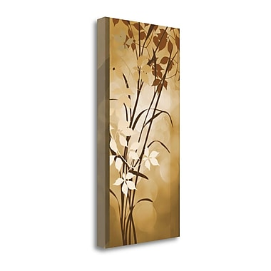Tangletown Fine Art 'Golden Heights II' by Edward Aparicio Graphic Art on Wrapped Canvas