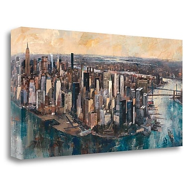 Tangletown Fine Art 'South Manhattan' by Marti Bofarull Painting Print on Wrapped Canvas