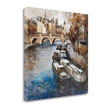 Tangletown Fine Art 'Notre-Dame Paris' by Marti Bofarull Painting Print on Wrapped Canvas