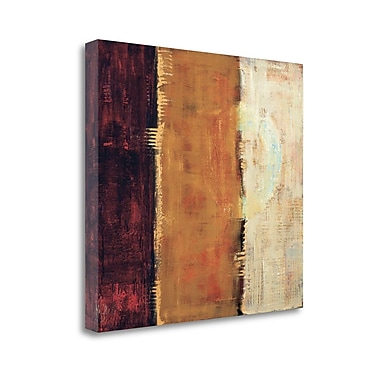 Tangletown Fine Art 'Trilogy' by Penny Benjamin Peterson Painting Print on Wrapped Canvas