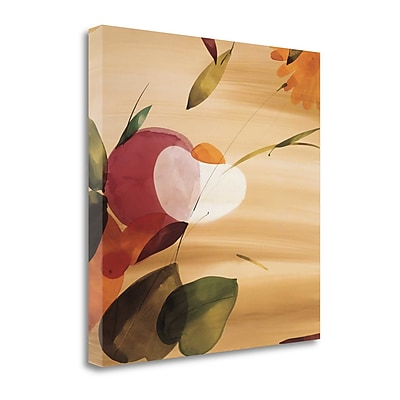 Tangletown Fine Art 'Floral Inspiration I' by Lola Abellan Graphic Art on Wrapped Canvas