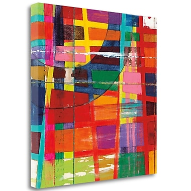 Tangletown Fine Art 'Day Off' by Dante Vida Graphic Art on Wrapped Canvas; 20'' H x 20'' W