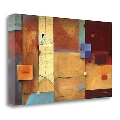 Tangletown Fine Art 'Poets Cause' by Don Li-Leger Graphic Art on Wrapped Canvas; 17'' H x 29'' W