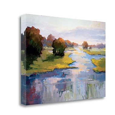 Tangletown Fine Art 'Unexpected Treasure' by Vicki McMurry Painting Print on Wrapped Canvas