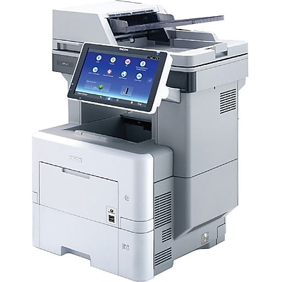Ricoh MP 601SPFG Laser Multifunction Printer, Monochrome, Plain Paper Print, Desktop, TAA Compliant