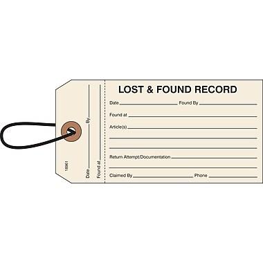 Merangue – 500 étiquettes Objets perdus, ficelle