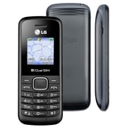 "LG B220A 1.45"" Dual SIM Unlocked Cell Phone, Black"