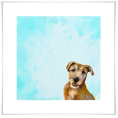 Ebern Designs 'Best Friend - Brown Dog' by Cathy Walters Acrylic Painting Print