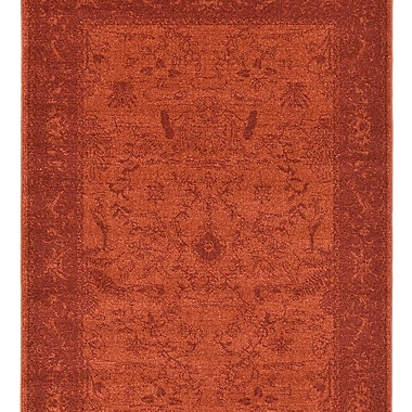Charlton Home Aledo Rust Red Indoor Area Rug