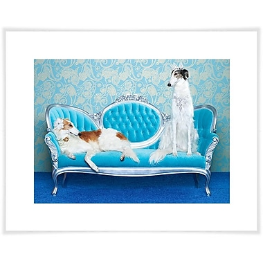 East Urban Home 'Dog Collection - Wedding Dogs' by Catherine Ledner Photographic Print