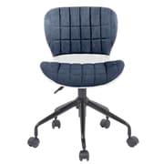 Porthos Home Sophia Low-Back Desk Chair; Gray