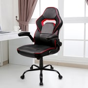 Ivy Bronx Racing Gaming Chair; Red