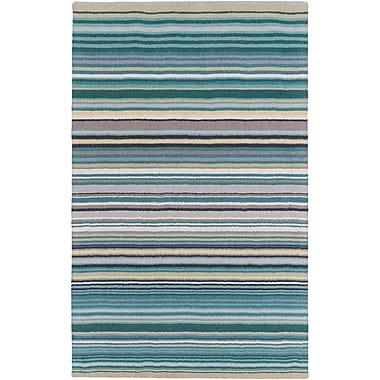 Winston Porter Bradley Stripe Area Rug; 9' x 13'