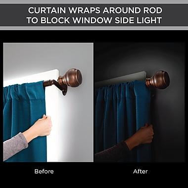Darby Home Co Aloysius Room Darkening Single Curtain Rod and Hardware Set