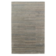 Williston Forge Acton Hand-Knotted Steel Area Rug; 9' x 12'