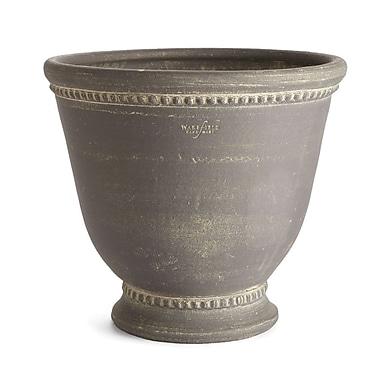 One Allium Way Amd Round Gray Terracotta Pot Planter; Large