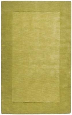 Winston Porter Bradley Lime Green Area Rug; 7'6'' x 9'6''