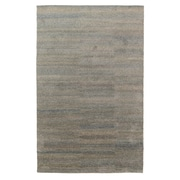 Williston Forge Acton Hand-Knotted Steel Area Rug; 2' x 3'