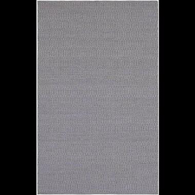Williston Forge Ronald Hand-Woven Medium Gray Indoor/Outdoor Area Rug; 5' x 7'6''