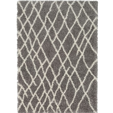 Williston Forge Zachariah Gray Area Rug; 5'3'' x 7'3''