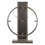 17 Stories Modern Analog Wood Desk Clock
