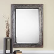 17 Stories Contemporary Metal Wall Mirror