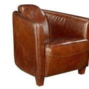 17 Stories Kailey Leather Club Chair