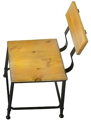 17 Stories Darcie Industrial Side Chair