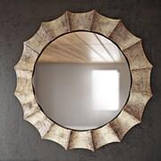 17 Stories Vertical Round Wall Mirror