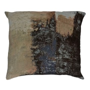 17 Stories Tahara Brushstrokes Velvet Throw Pillow