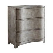 17 Stories Raven Curved 3 Drawer Chest