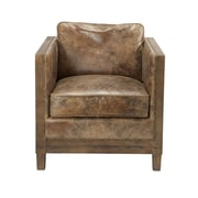 Union Rustic Grant Leather Club Chair