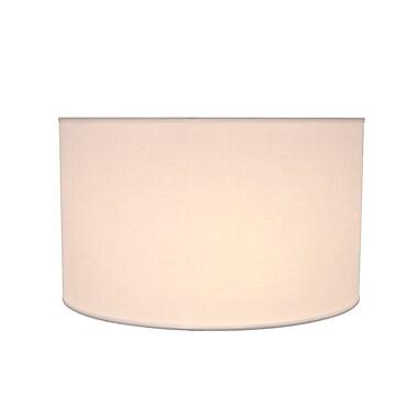 Aspen Creative Corporation 17'' Fabric Drum Lamp Shade