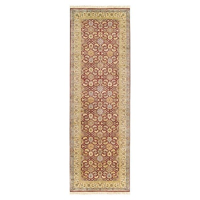 Astoria Grand Attica Cinnamon Floral Area Rug; Runner 2'6'' x 8'