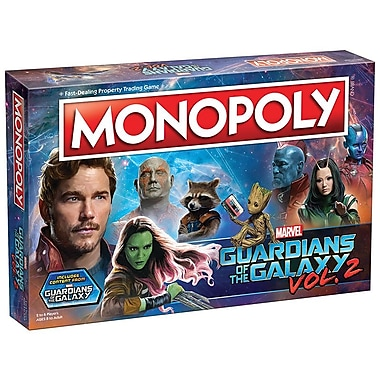 Monopoly Guardians of the Galaxy Vol. 2