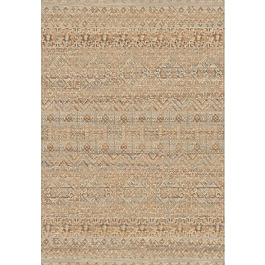 Bloomsbury Market Leigh Natural Light Brown Area Rug; 5'3'' x 7'7''