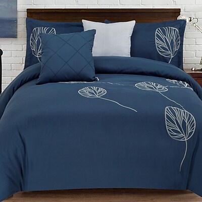 Bay Isle Home Kennebunkport 5 Piece Comforter Set; Full