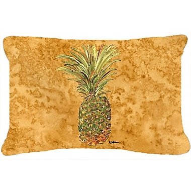 Bay Isle Home Amaryllis Pineapple Rectangular Indoor/Outdoor Throw Pillow