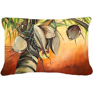 Bay Isle Home Miconia Coconut Tree Indoor/Outdoor Throw Pillow