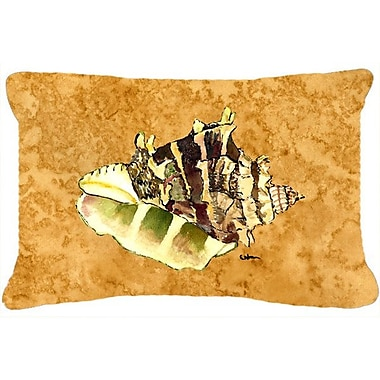 Bayou Breeze Balderston Shell Indoor/Outdoor Throw Pillow