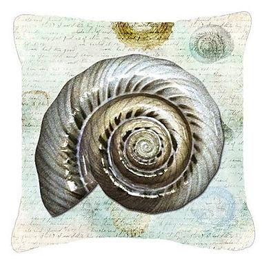 Bayou Breeze Balderston Green/Gray Indoor/Outdoor Throw Pillow; 18'' H x 18'' W x 5.5'' D