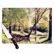 East Urban Home Sylvia Coomes Glass 'Walk in the Park Photography' Cutting Board