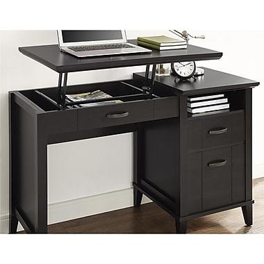 Charlton Home Myles Lift-Top Standing Desk; Espresso