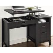 Charlton Home Myles Lift-Top Standing Desk; Espresso