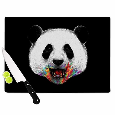 East Urban Home Digital Carbine Glass 'Where Is the Rainbow? Illustration' Cutting Board