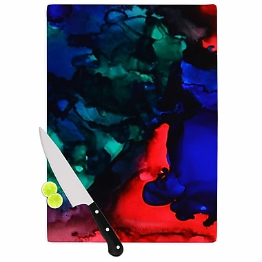 East Urban Home Claire Day Glass 'Harmony Abstract Painting' Cutting Board