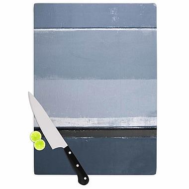 East Urban Home CarolLynn Tice Glass 'Reveal Painting' Cutting Board; 0.25'' H x 11.5'' W x 8.25'' D