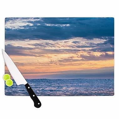 East Urban Home Colin Pierce Glass 'Beauty in Chaos Photography' Cutting Board