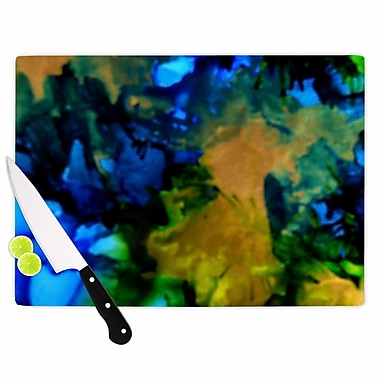 East Urban Home Claire Day Glass 'Relax' Cutting Board; 0.25'' H x 11.5'' W x 8.25'' D