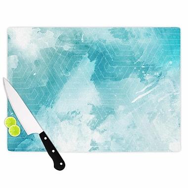 East Urban Home Matt Eklund Glass 'Skyward' Cutting Board; 0.25'' H x 15.75'' W x 11.5'' D